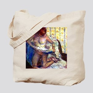 Degas - Kneeling Woman - Tote Bag