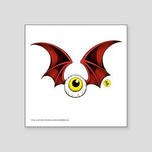 Flying Eyeball Vinyl Sticker