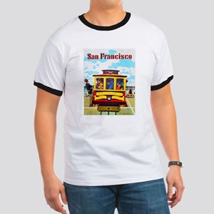 San Francisco Travel Poster 1 Ringer T