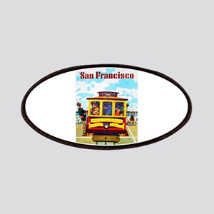 San Francisco Travel Poster 1 Patches
