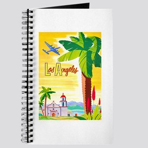 Los Angeles Travel Poster 2 Journal