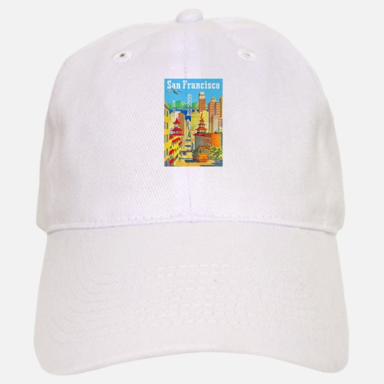 San Francisco Travel Poster 2 Hat