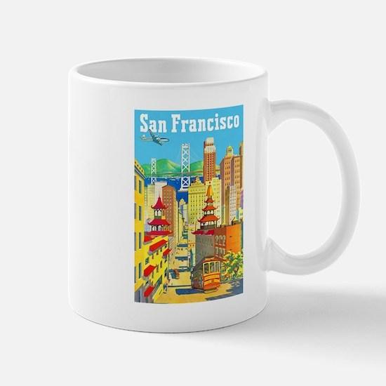 San Francisco Travel Poster 2 Mug