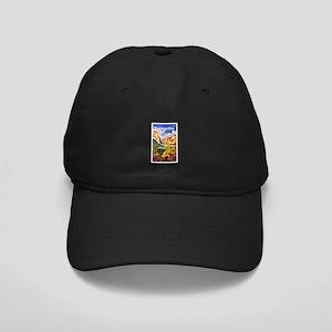 Yosemite Travel Poster 2 Black Cap