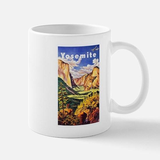 Yosemite Travel Poster 2 Mug