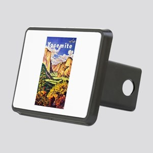 Yosemite Travel Poster 2 Rectangular Hitch Cover