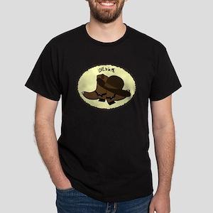 COWBOY BOOTS Dark T-Shirt