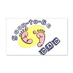 Soon-to-be Dad 20x12 Wall Decal