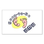 Soon-to-be Dad Sticker (Rectangle)
