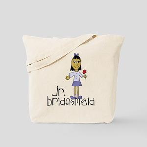 Jr Bridesmaid Purple Tote Bag