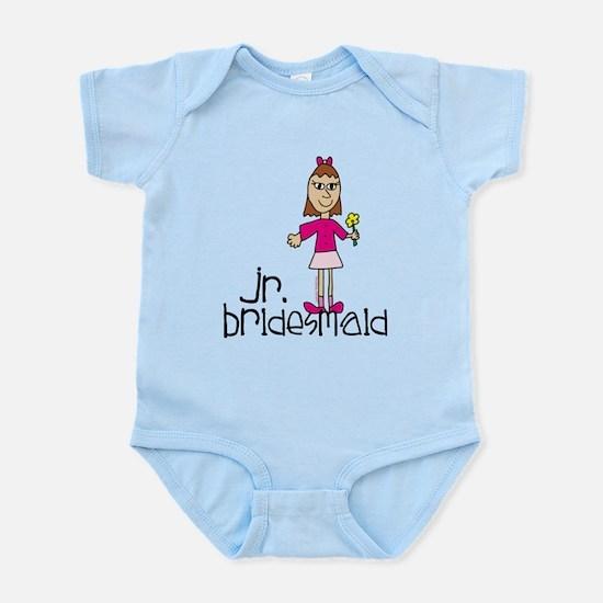 Jr. Bridesmaid (Pink) Infant Bodysuit