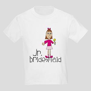 Jr. Bridesmaid (Pink) Kids Light T-Shirt