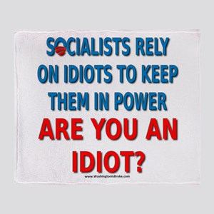 Socialist Idiots Throw Blanket