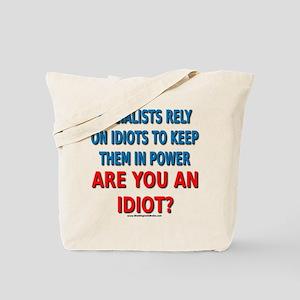 Socialist Idiots Tote Bag