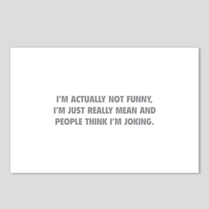 I'm Just Really Mean Postcards (Package of 8)