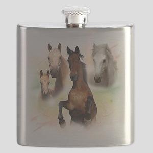 Horses Flask