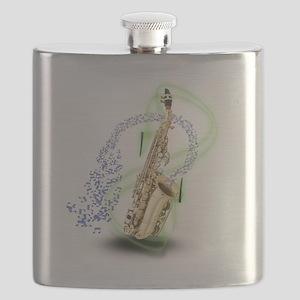 SapranoSaxophone Flask