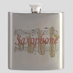 saxophone Flask