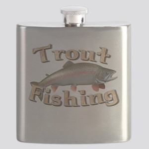 bass fishing Flask