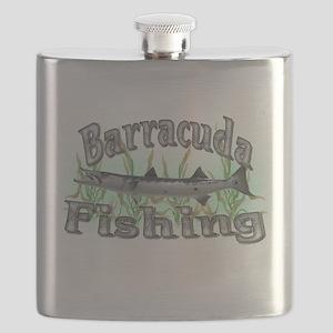 bass fishing Flask