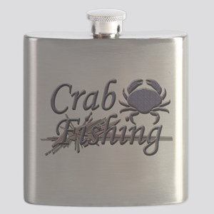 crab fishing Flask