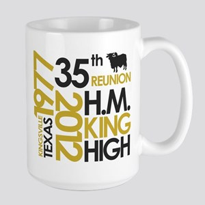 35th Reunion Logo Large Mug