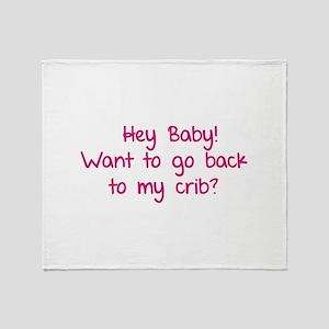 Hey baby! Want to go back to my crib? Stadium Bla