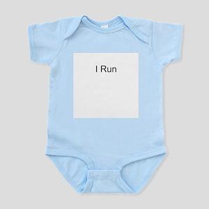 I Run Infant Creeper