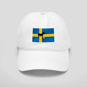 Sweden Soccer Elk Flag Cap
