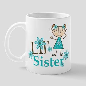 Little Sister Stick Figure Mug