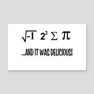 I Ate Some Pie Rectangle Car Magnet