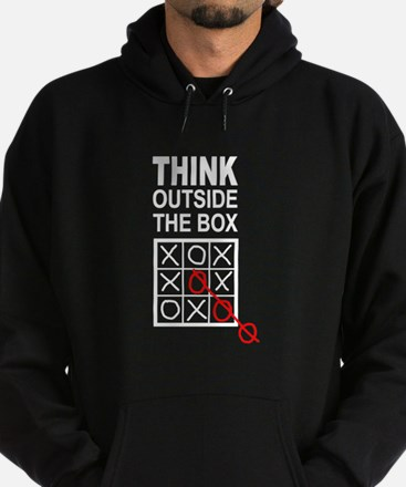 Think Outside the Box Hoodie (dark)