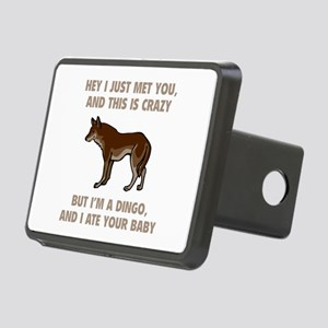 I Ate Your Baby Rectangular Hitch Cover