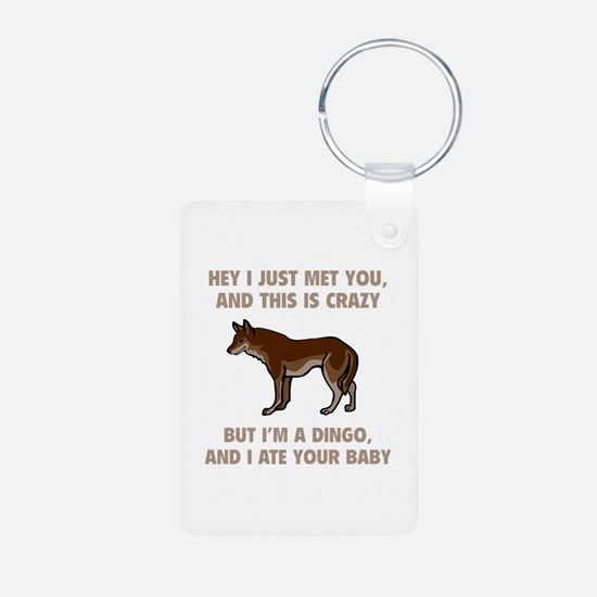 I Ate Your Baby Keychains