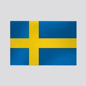 Flag of Sweden Rectangle Magnet