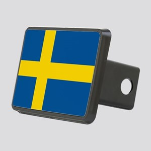 Flag of Sweden Rectangular Hitch Cover