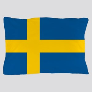 Flag of Sweden Pillow Case