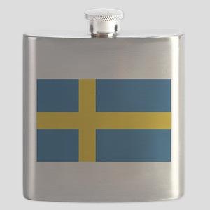 Flag of Sweden Flask