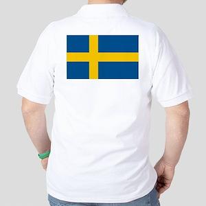 Flag of Sweden Golf Shirt