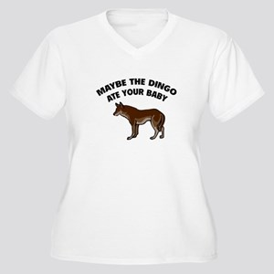 Maybe the dingo ate your baby Women's Plus Size V-