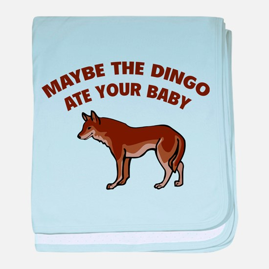 Maybe the dingo ate your baby baby blanket