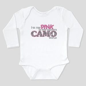 2-pinkinmydaddyscamoworld Body Suit