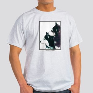 Huskies Open Edition Ash Grey T-Shirt