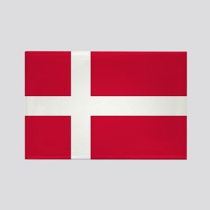 Flag of Denmark Rectangle Magnet