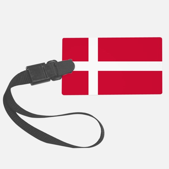 Flag of Denmark Large Luggage Tag