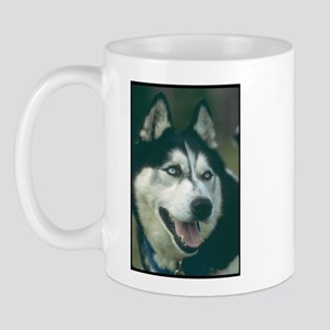 Siberian Husky Photo Mug