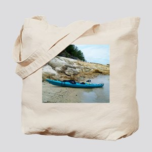 Lake Kayaking Tote Bag