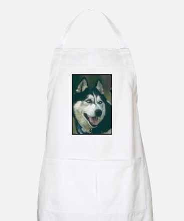 Siberian Husky Photo BBQ Apron