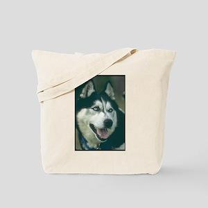 Siberian Husky Photo Tote Bag
