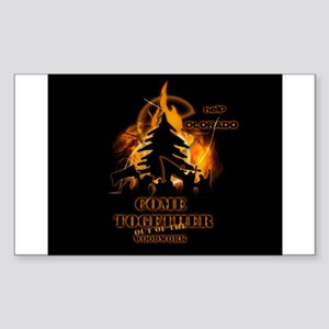 Wild Fire Sticker (Rectangle)